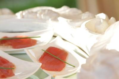 Salmon starters