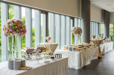 Corporate buffet event