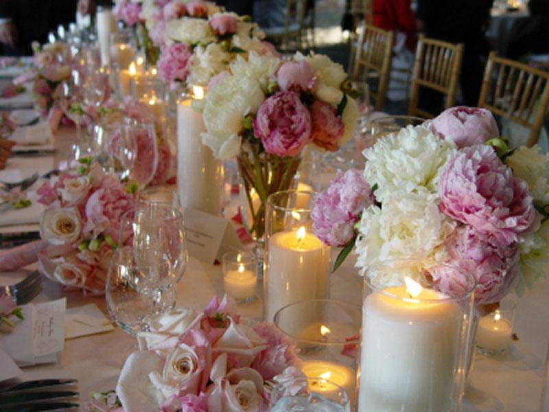 Цветы для украшения стола фото