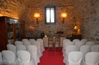 Civil ceremony at the castle