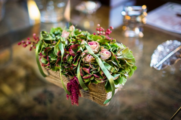 Fl Basket For The Wedding Rings