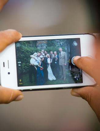 Photographic service for the bride and groom