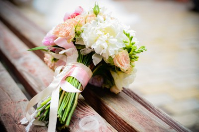 The most important flowers on a wedding day: the bouquet