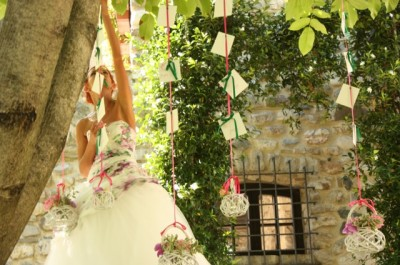 sposa con tableau marriage