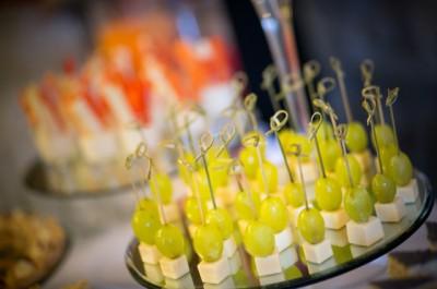 Stuzzichini per cocktail aziendale