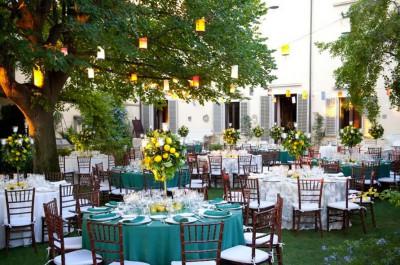 Garden receptions
